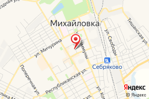 Адрес МУП Михайловское водопроводно-канализационное хозяйство, абонентский отдел на карте