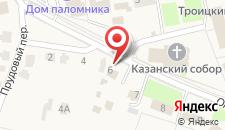Отель Дивное на карте
