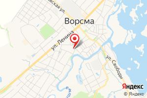 Адрес НижегородЭнергоГазРасчет, абонентский пункт в Ворсменком районе на карте