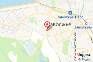 Адрес МУП ТВК на карте