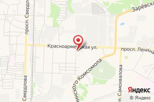 Адрес Газтехмонтаж на карте