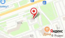 Отель На даче на карте