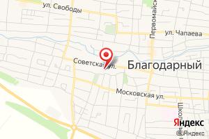 Адрес Газпром межрегионгаз Ставрополь, филиал в Курском районе на карте