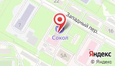 Эконом-отель Сокол на карте