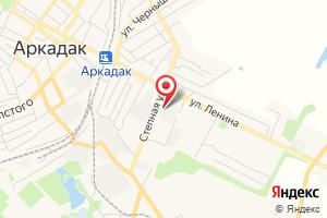 Адрес Газпром газораспределение Саратовская область, центр обслуживания населения в Аркадакском р-не Саратовской области на карте