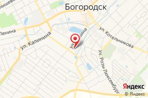 Адрес Газпром газораспределение Нижний Новгород, филиал в городе Богородск на карте