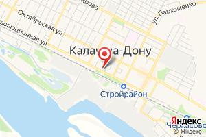 Адрес Газпром межрегионгаз Волгоград, абонентский отдел Калачевского р-на на карте