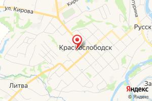 Адрес Газпром межрегионгаз, территориальный участок г. Краснослободск на карте