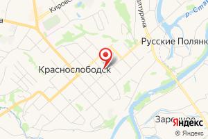 Адрес Газпром межрегионгаз Саранск, территориальный участок г. Краснослободск на карте