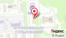 Гостиница Орион на карте