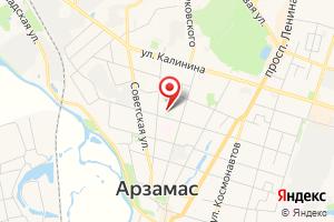 Адрес Арзамасский городской район электрических сетей на карте