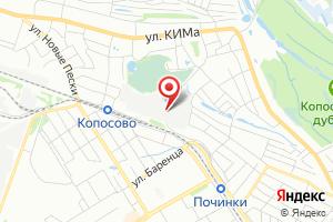 Адрес Ново-Сормовская водопроводная станция на карте