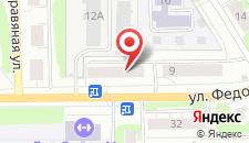 Гостиница Маяк на карте