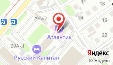 Мини-отель Атлантик на карте