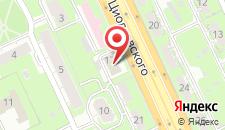 Гостиница Александрия на карте