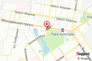 Адрес КНС на карте