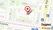 Гостевой дом Сергеевский на карте