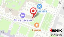 Гостиница Московская на Чаадаева на карте