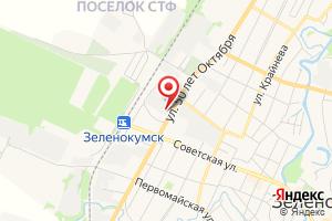 Адрес Газпром межрегионгаз Ставрополь, филиал в Советском р-не на карте