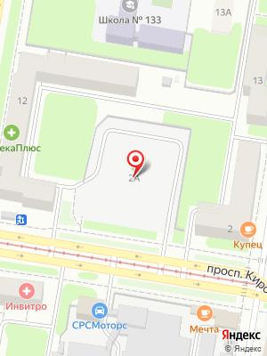 Ресторан Доставкин на карте