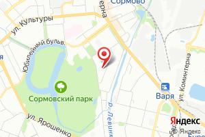 Адрес Нюанс на карте