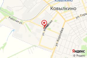 Адрес Газпром газораспределение Саранск, филиал в г. Ковылкино на карте