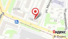 Мини-гостиница Князь на Мичурина на карте
