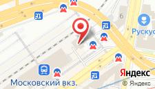 Гостиница КДО на карте