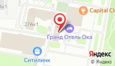 Гранд Отель Ока Премиум на карте