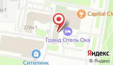 Отель Ока Бизнес на карте