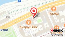 Отель Нежинский на карте