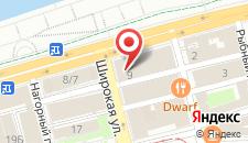 Хостел Набережный на карте