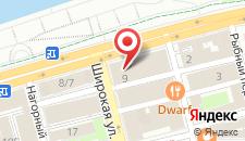 Гостиница Литвич на карте