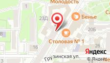 Спа-отель Ярослав на карте