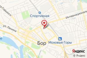 Адрес НижегородЭнергоГазРасчет, абонентский пункт в Борском районе на карте