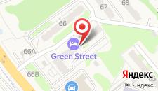 Гостиница Green street на карте