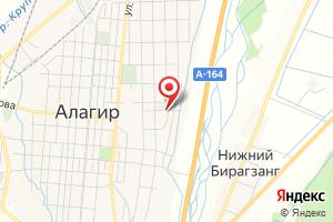 Адрес Газпром газораспределение Владикавказ, филиал в Алагирском районе на карте