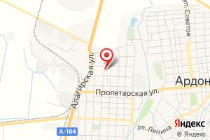 Адрес Аварийная Служба, Ардонские Электрические Сети на карте