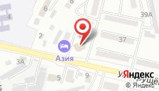 Гостиница Азия на карте