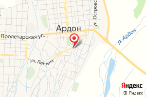 Адрес Ардонские Инженерные Сети на карте