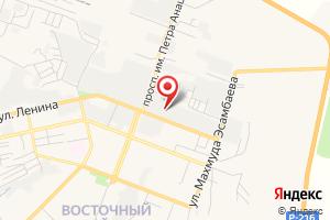 Адрес Калмыцкое управление Водопроводов на карте