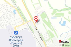 Адрес Газпром Трансгаз Волгоград, управление аварийно-восстановительных работ на карте