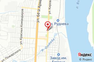Адрес Газпром межрегионгаз, абонентский участок Кировского р-на Волгограда на карте