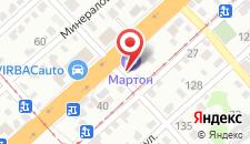 Гостиница Мартон Череповецкая на карте