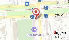Гостиница Олимпия на карте