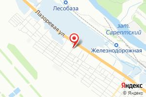 Адрес ТОС Водники на карте