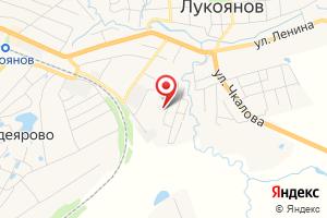 Адрес НижегородЭнергоГазРасчет, абонентский пункт в Лукояновском районе на карте