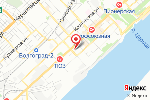 Адрес Газпром межрегионгаз Волгоград на карте