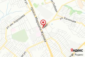 Адрес Газпром межрегионгаз Волгоград, абонентский участок Дзержинского и Центрального районов Волгограда на карте