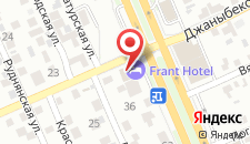 Гостиница Frant-Hotel на карте